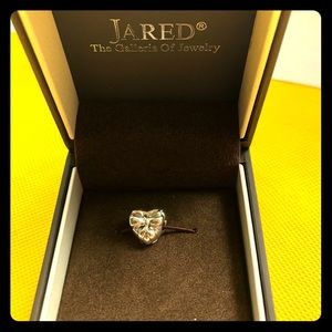 Pandora Silver Charms Chic Heart and Bow shape